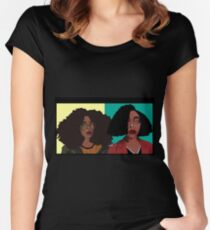 Daria and Jane Women's Fitted Scoop T-Shirt