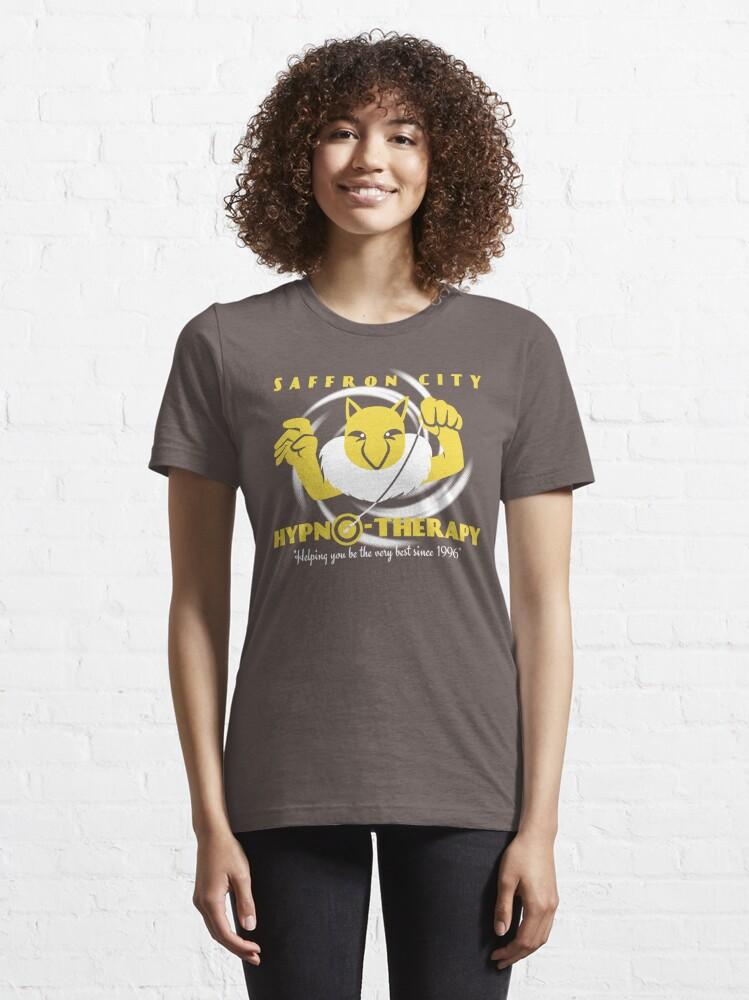 Alternate view of Saffron City Hypno-Therapy Essential T-Shirt