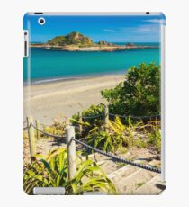 Island and the coast. Location: New Zealand iPad Case/Skin