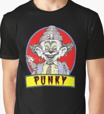 Punky Clown Graphic T-Shirt