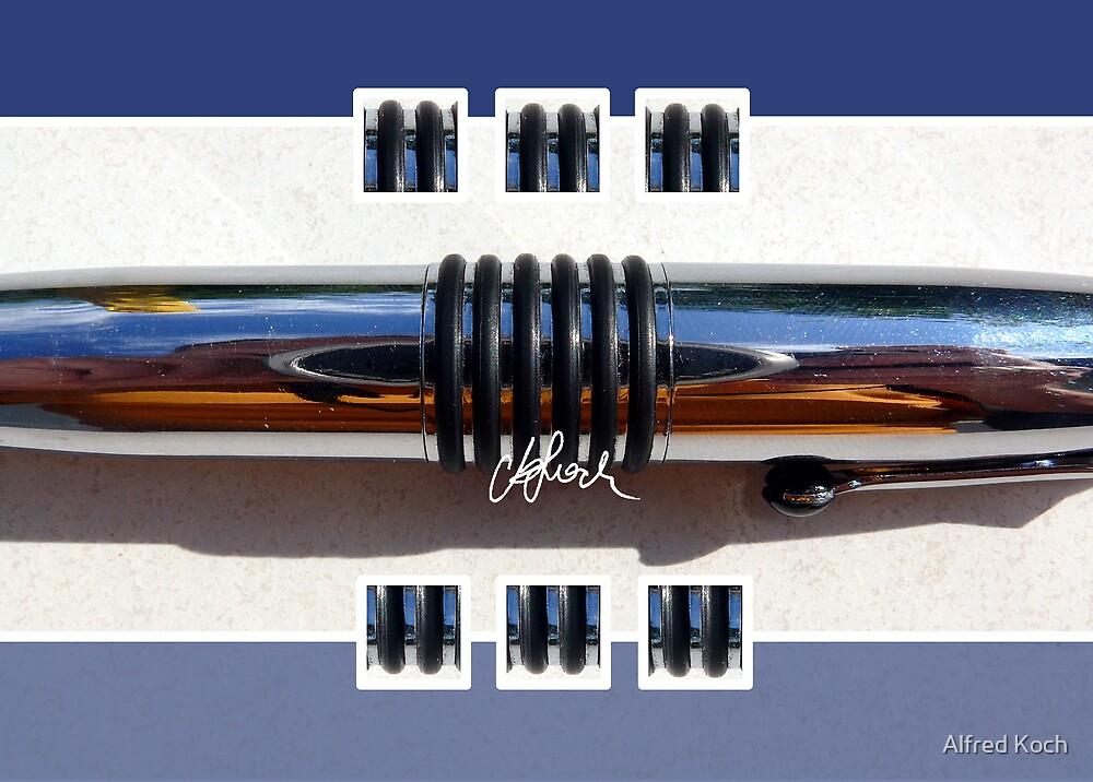 my pen by Alfred Koch