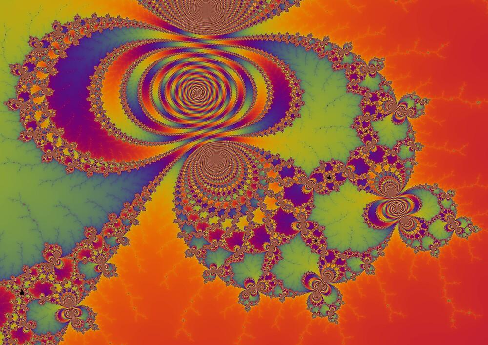 Rainbow Fractal by cms271828