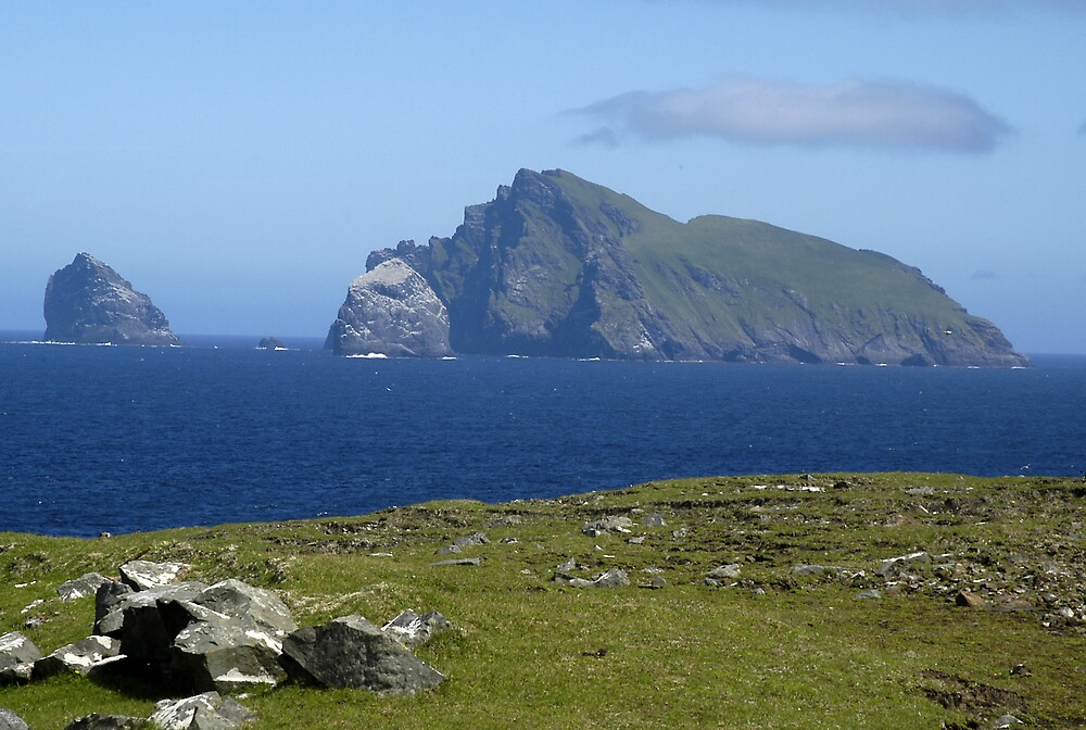 Stac Lee. Stac an Armin and Boreray by JimWhitham