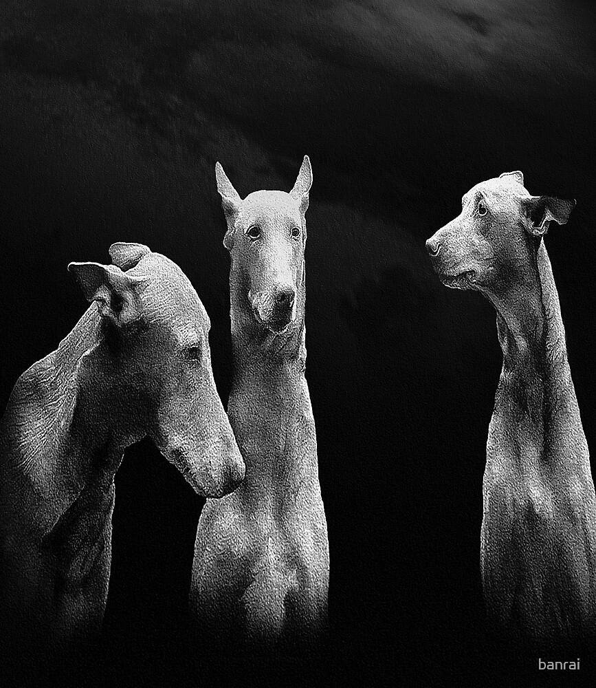 Three Pharoahs by banrai