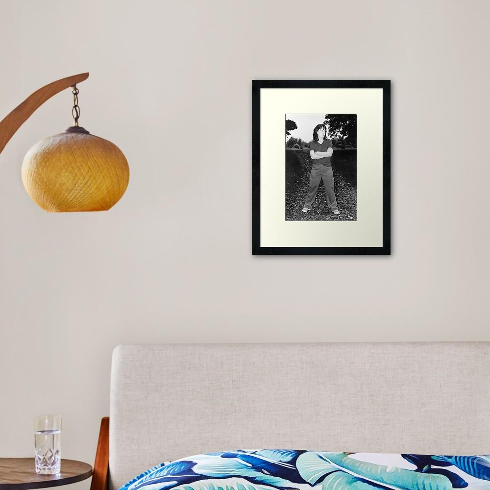 Asskicker Framed Art Print