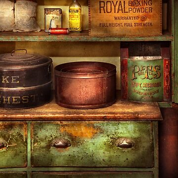 Chef - Kitchen - Food - The cake chest by mikesavad