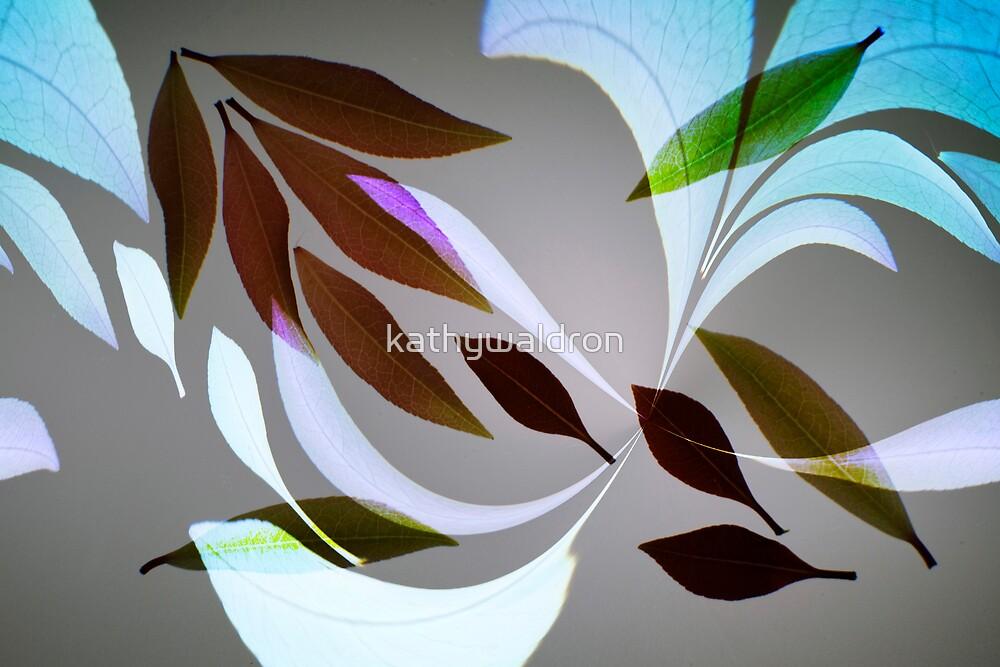 leaves fantasy by kathywaldron
