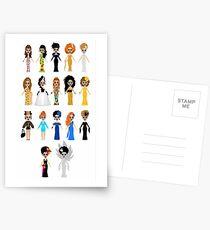 Bianca Del Rio Kleider Postkarten