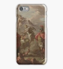 Giovanni Antonio Pellegrini - An Allegory Of The Marriage Of The Elector Palatine iPhone Case/Skin