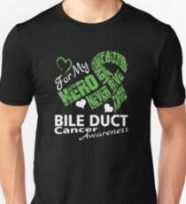 Love for my Hero, Cancer Awareness Ribbon T-Shirt