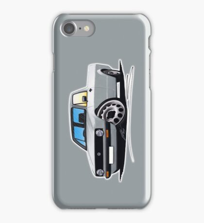 VW Caddy Silver iPhone Case/Skin