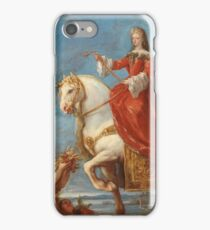 Giordano, Luca - Maria Anna Of Neuburg, Queen Of Spain, On Horseback iPhone Case/Skin