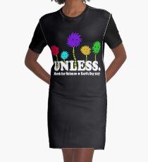 Tag der Erde -Sprich für die Bäume und März für die Wissenschaft T-Shirt Kleid