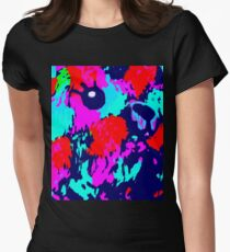 Techno Teddy  Womens Fitted T-Shirt