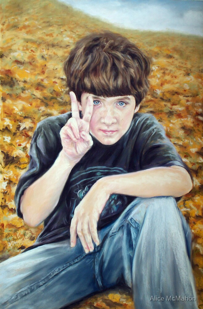 """""""Give Peace a Chance"""" by Alice McMahon"""