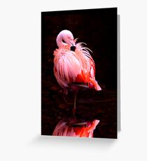 Show Girl Greeting Card