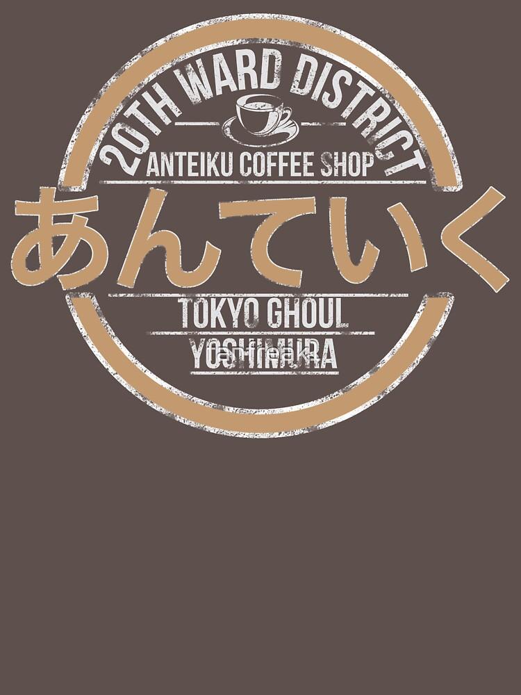 TShirtGifter presents: Tokyo ghoul Anteiku Coffee Shop | Unisex T-Shirt