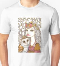 Sisterhood of the white owl Unisex T-Shirt