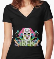 starfucker STFKR Women's Fitted V-Neck T-Shirt