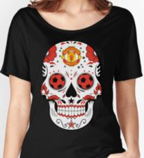manchester united apparel usa Women's Relaxed Fit T-Shirt