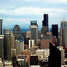 Downtown Seattle by MEV Photographs