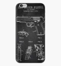 Sig Sauer pistol iPhone Case