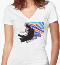 starfucker STFKR Women's Fitted V-Neck T-Shirt