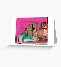 griller girls1 Greeting Card