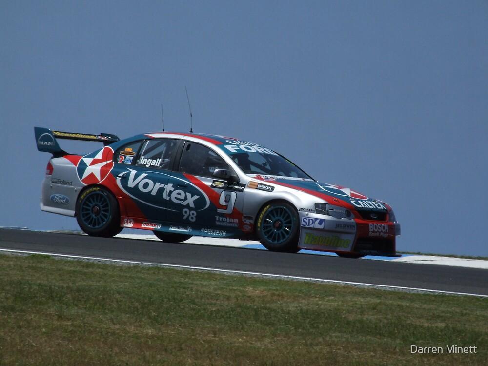 V8 Supercars - Russell Ingall (SBR Last Drive) by Darren Minett