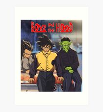 Boyz in the hood Art Print