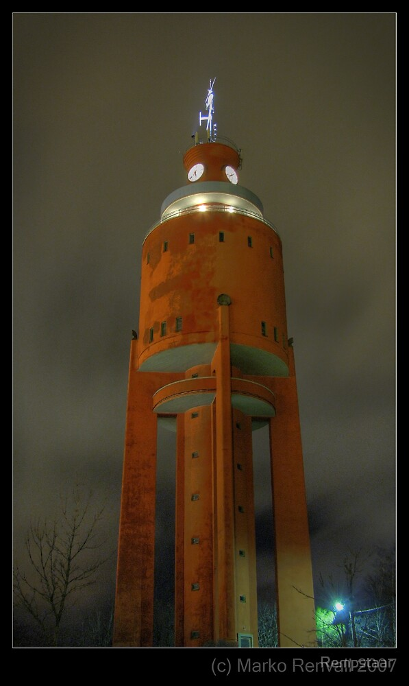 WaterTower - HDR by Rempstaar