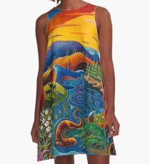 My Homeland A-Line Dress