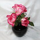 Trio of Roses by AnnDixon