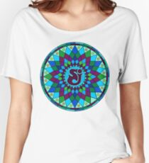 SCI - String Cheese Incident - Star - Geometric Mandala - Psychedelic - Trippy Women's Relaxed Fit T-Shirt