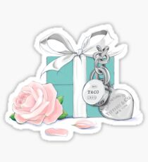 Tiffany Rose Sticker