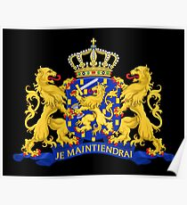 Netherlands Coat of Arms Poster