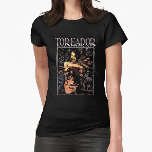 Masquerade Clan: Toreador Revised Fitted T-Shirt