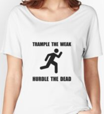 Trample Hurdle Women's Relaxed Fit T-Shirt