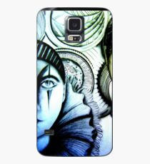 house of harlequin pierrot clown twin  Case/Skin for Samsung Galaxy