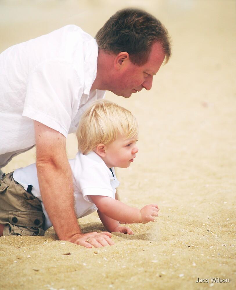 Lion and Cub!!!!  ( Beach Series 3 ) by Jacq Wilson