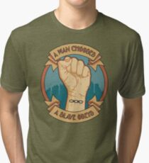 A Slave Obeys Tri-blend T-Shirt