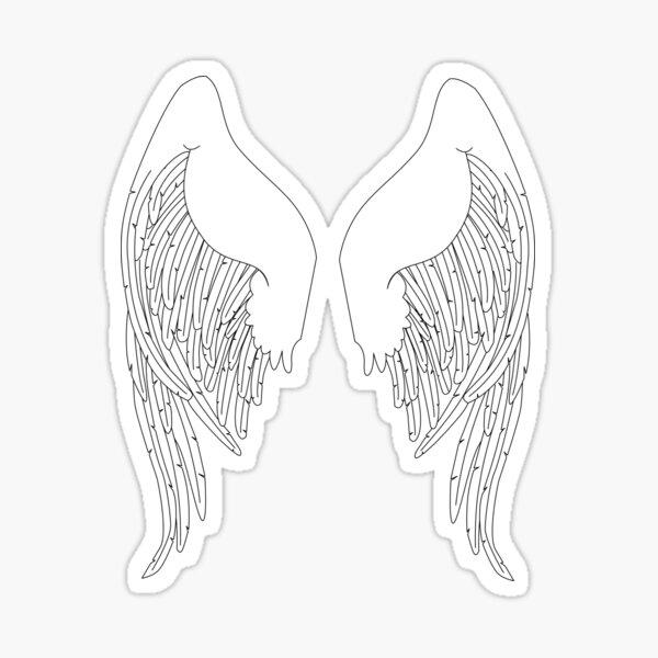I am an angel Sticker