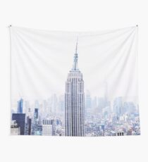 New York City View - Manhattan Cityscape Wall Tapestry