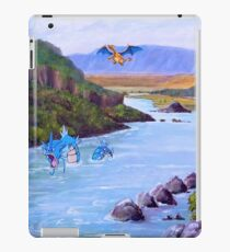 Pokemon in the real world iPad Case/Skin