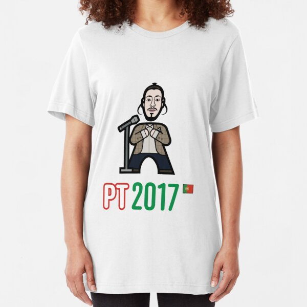 Portugal 2017 Slim Fit T-Shirt