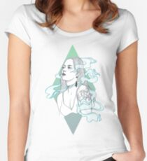 Smoke + Mirrors Women's Fitted Scoop T-Shirt