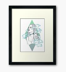 Smoke + Mirrors Framed Print