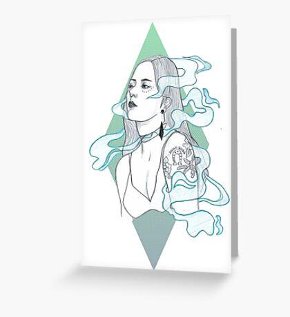 Smoke + Mirrors Greeting Card