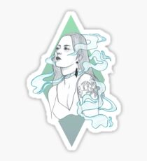 Smoke + Mirrors Sticker