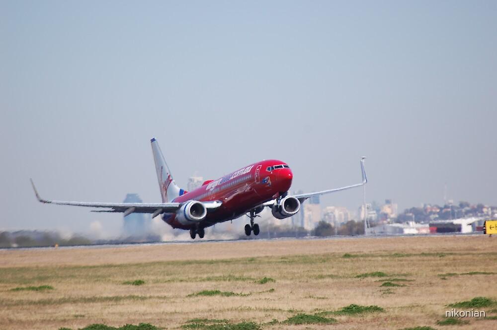 safe landing by nikonian